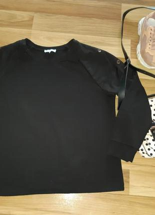 Свитшот свитер кофта теплая зимняя оверсайз