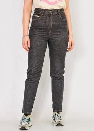 Прямые джинсы mom boyfriend высокая посадка john baner eur 40