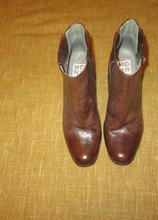 Moma кожаные ботинки челси оригинал италия