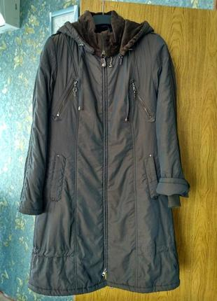 Пальто-куртка осень-зима