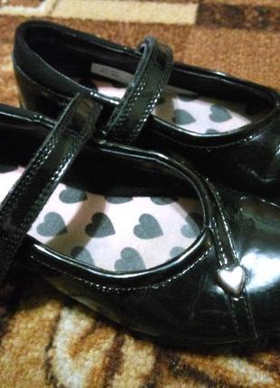 Классные туфли балетки clarks 18 см.