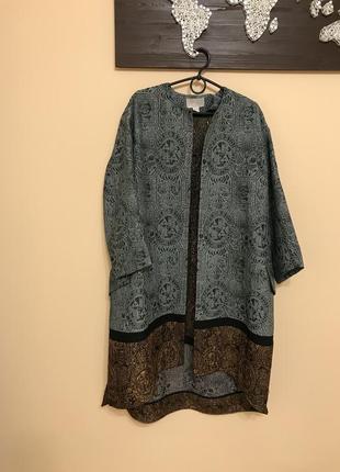 Пальто  кафтан h&m conscious exclusive шикарна вещь