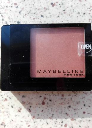 Румяна maybelline master blush №40 темно-розовый