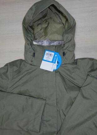 Новая женская куртка 3 в 1 columbia sleet to street interchange зимняя