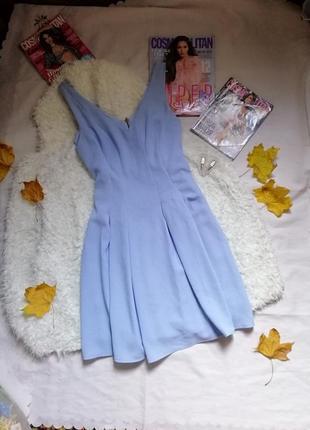 Нежное воздушное платье / ніжна сукня небесного кольору