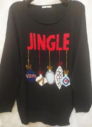 Милый новогодний ,рождественский свитерок