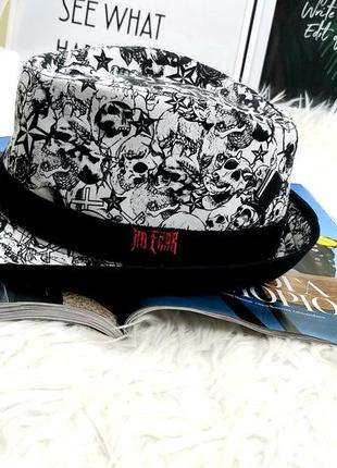 No fear 56 крутая шляпа с черепами