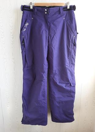 Лыжные фиолетовые штаны