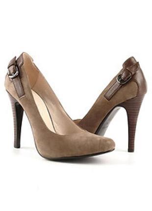 Классические туфли / туфельки из натуральной замши ellenka стелька 23 см