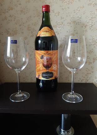 Бокалы для вина bohemia ( чехия)