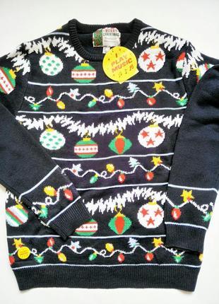 Cedar wood новогодний свитер