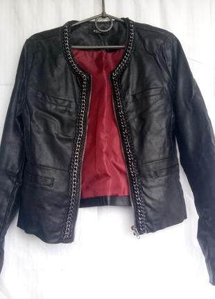 Куртка из искусственной кожи сolin's