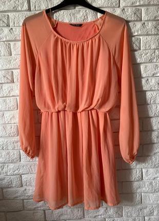 Шелковое платье select