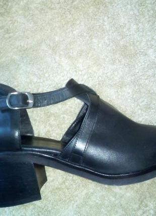 Кожаные туфли, босоножки asos оригинал
