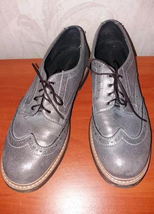 Туфли женские кожанные немецкой фирмы