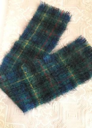 Мохеровый индийский шарф