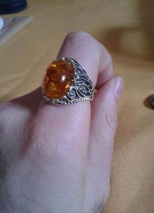Янтарный перстень