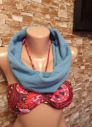 Турция,шикарный снуд,хомут,шарф.
