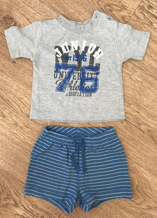 Костюм шорты футболка gap