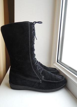 Деми еврозима кожаные сапоги vagabond р.35