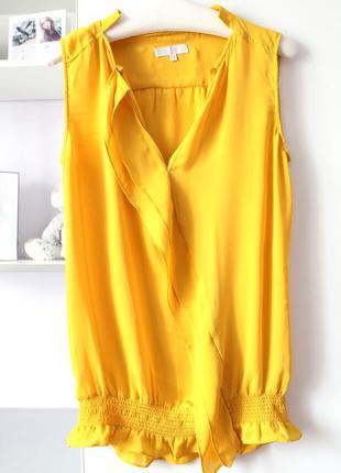 Горчичная блуза от jasper conran