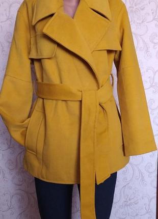 Красивое женское пальто boohoo