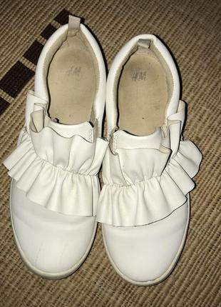 Туфли школьные, мокасины, слипоны h&m