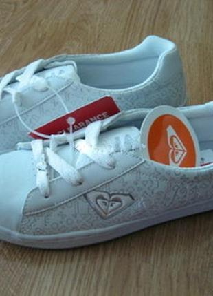 Кроссовки (спортивные, туфли) roxy, кожа, оригинал .