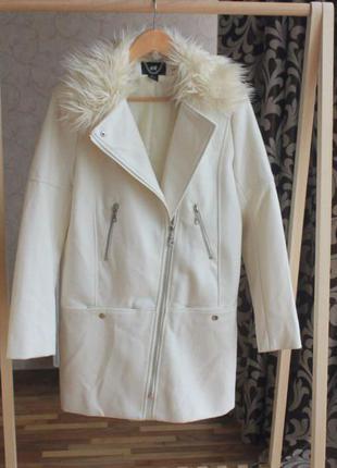 Пальто косуха h&m