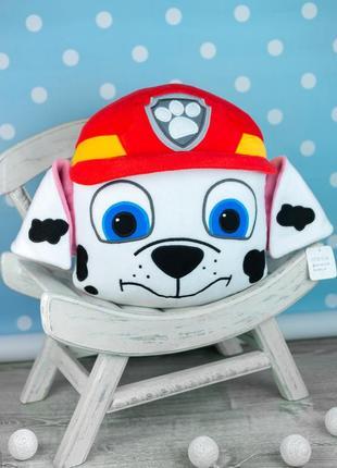 Мягкая игрушка - подушка маршал, щенячий патруль