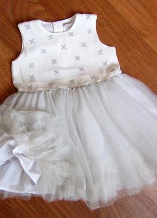 Нарядное пышное платье mamas&papas на 1.5-2.5 года