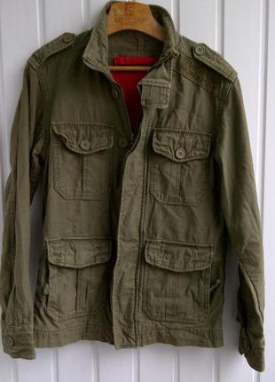 Куртка в стиле милитари superdry 07