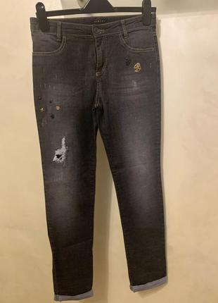 Супер стильные джинсы sisley
