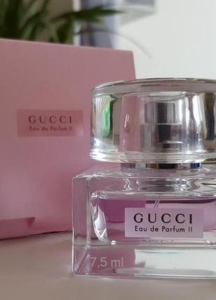 Gucci eau de parfum 2_original_eau de parfum 7 мл затест_парфюм.вода