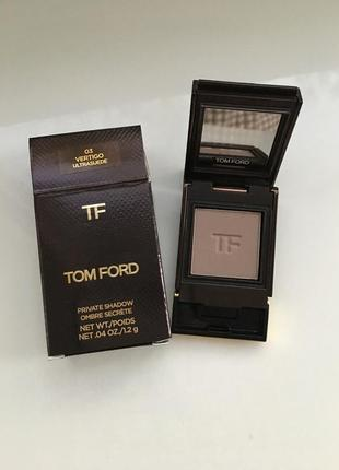 Tom ford private eyeshadow vertigo тени однушка