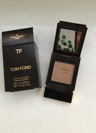 Tom ford private eyeshadow burnt suede однушка теней