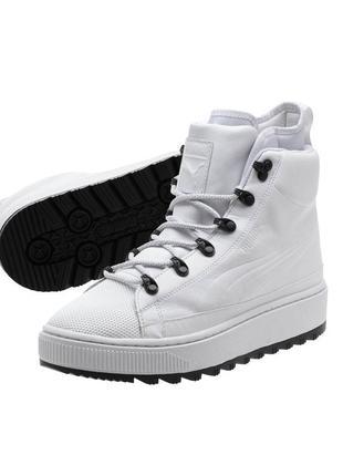 Теплые  кроссовки puma the ren boot ,кожа, водостойкие,оригинал