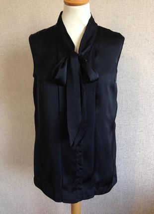 Блуза жен. paul costelloe,атлас,р.s-m