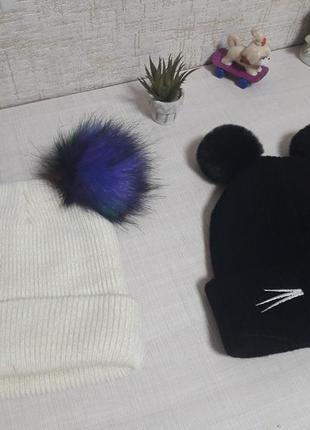 Классные теплые шапочки