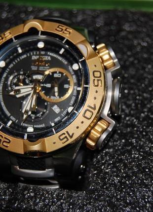 Швейцарские часы invicta 12879 subaqua noma v, swiss made , quartz chronograph watch .