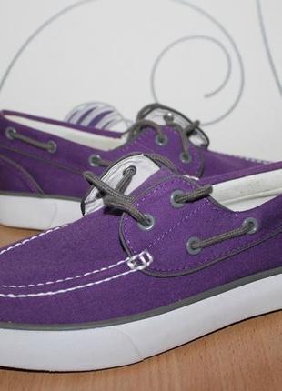 Туфли мокасины топсайдеры ralph lauren