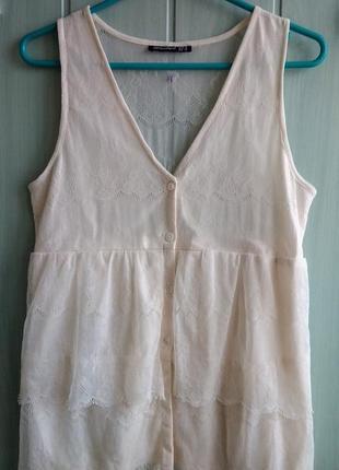 Кружевная блуза, майка, топ