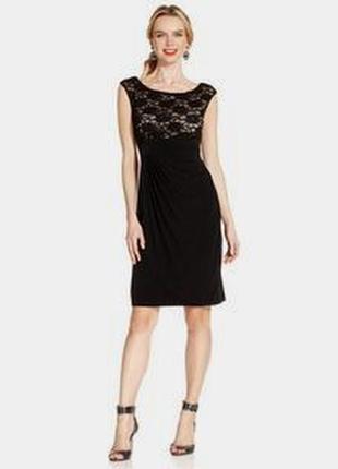 Кружевное платье со сборками connected apparel