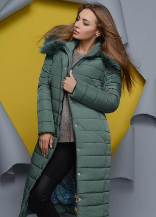 Шикарная зимняя куртка x-woyz 48 размер
