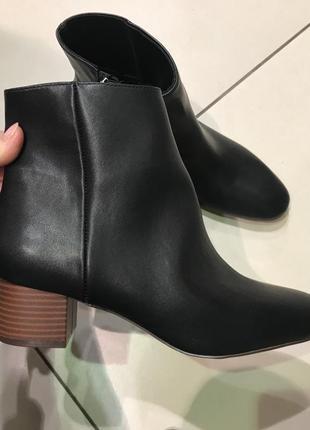 Качественные ботинки ботильоны сапожки reserved