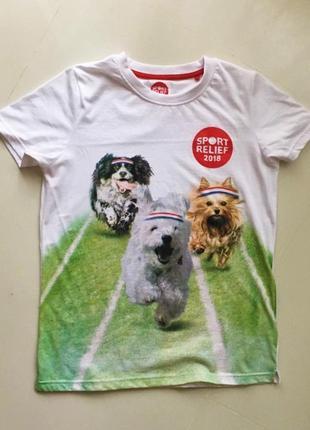 Натуральна  футболка sport relief,p.xs