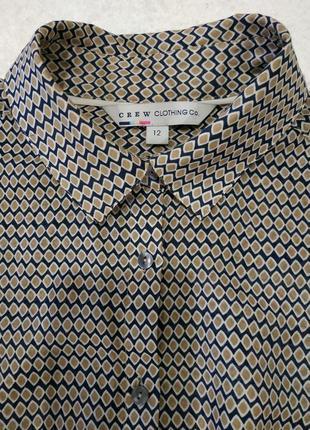 Натуральная блуза рубашка англия