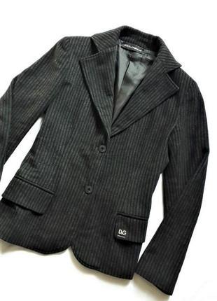 Пиджак в полоску шерстяной dolce&gabbana оригинал