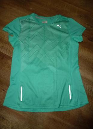 Спортивная футболка пума puma, р м, uk 12, оригинал