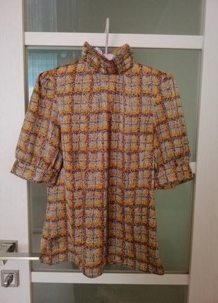 Блуза monton рукав фонарик